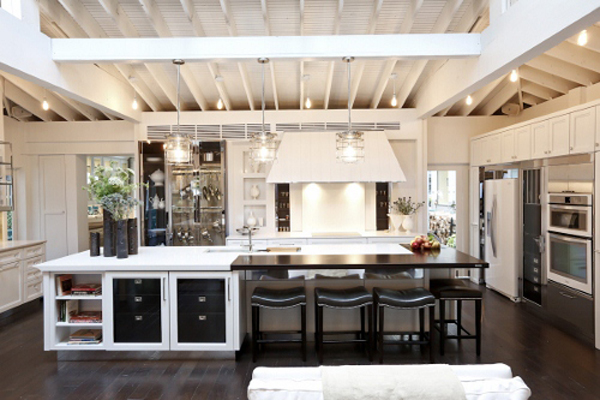 country style kitchen cabinets design photo - 2