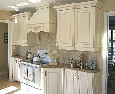 country style kitchen cabinets design photo - 5