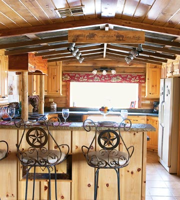 country western kitchen designs photo - 2