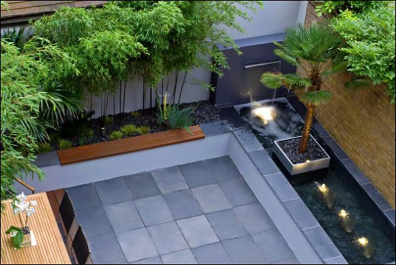Wonderful Stunning Courtyard Garden Design Ideas Pictures Images House