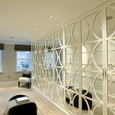 covering mirrored glass closet doors photo - 2
