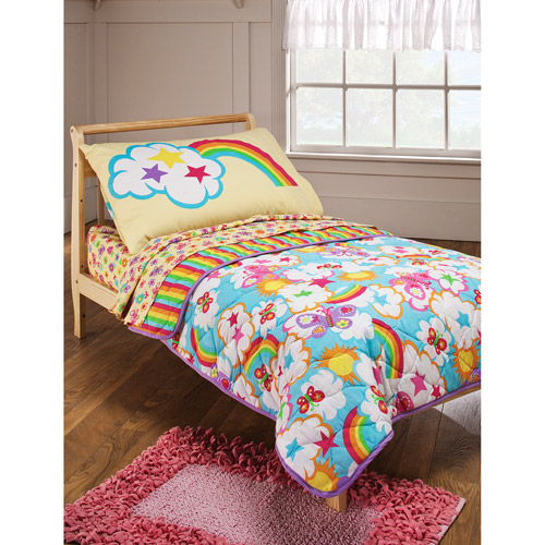 crayola rainbow delight bedding photo - 1