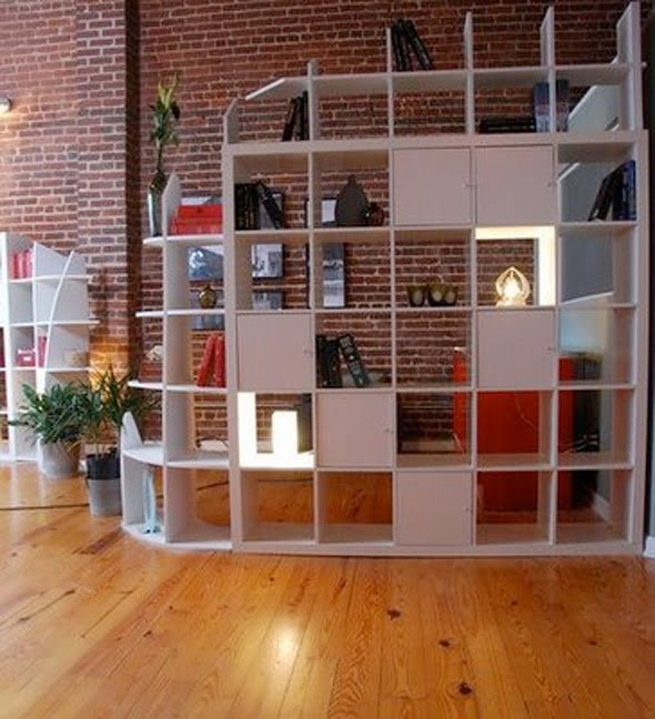 creative room dividers for lofts photo - 2