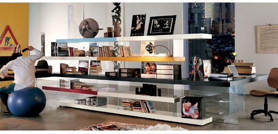 creative room dividers for lofts photo - 6
