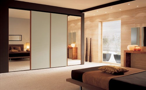 Bedroom Cupboard Designs With Mirror
