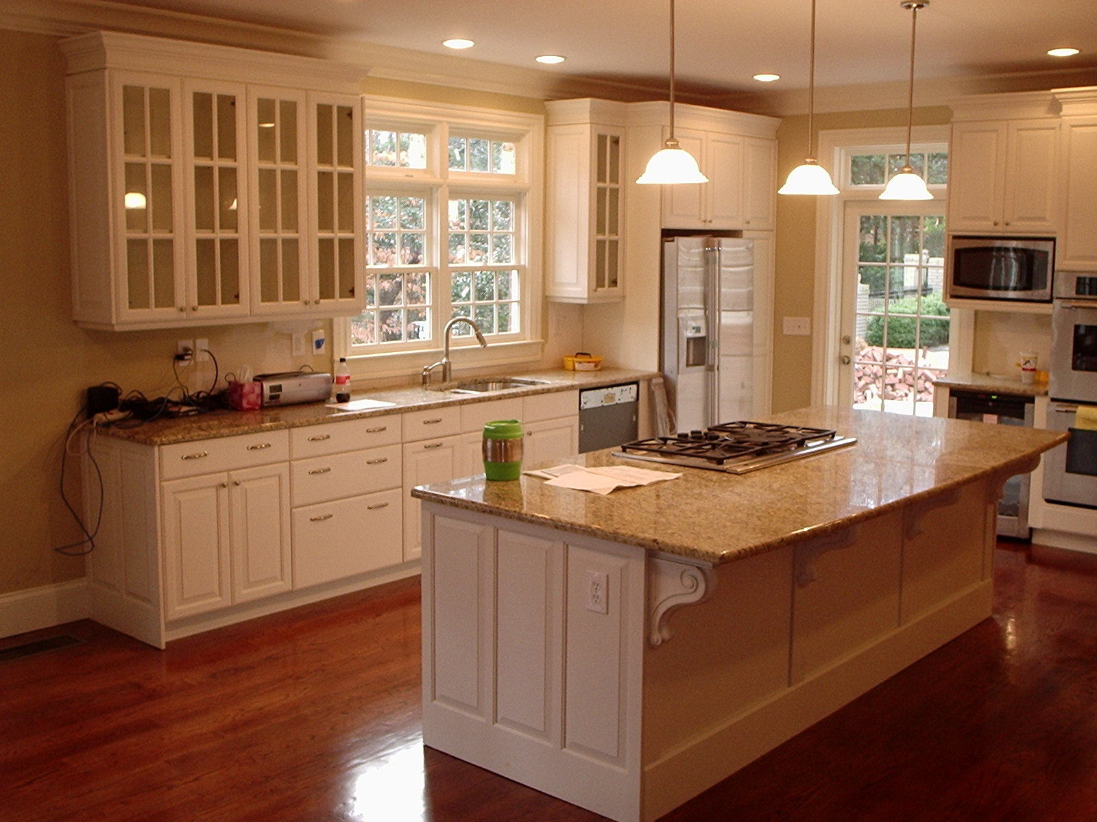 custom black kitchen cabinets photo - 6