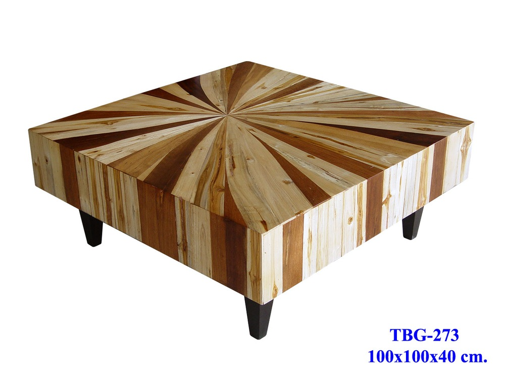 Custom Wood Coffee Table Designs