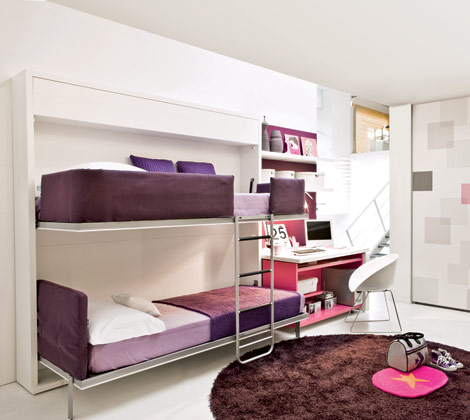cute girly bunk beds photo - 1