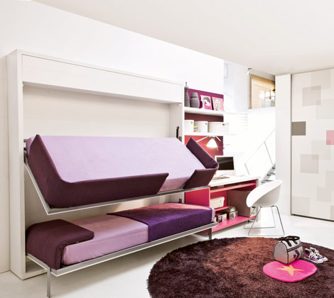 cute girly bunk beds photo - 2