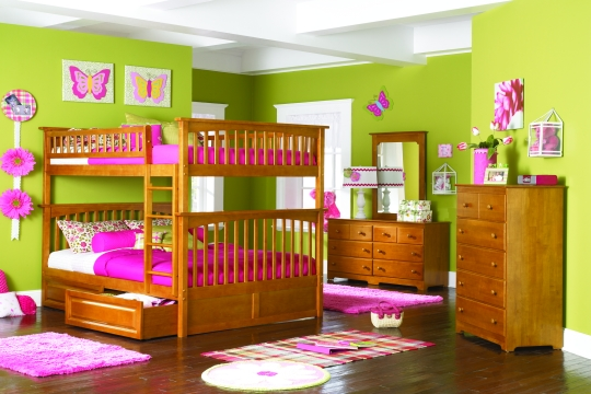 cute girly bunk beds photo - 4