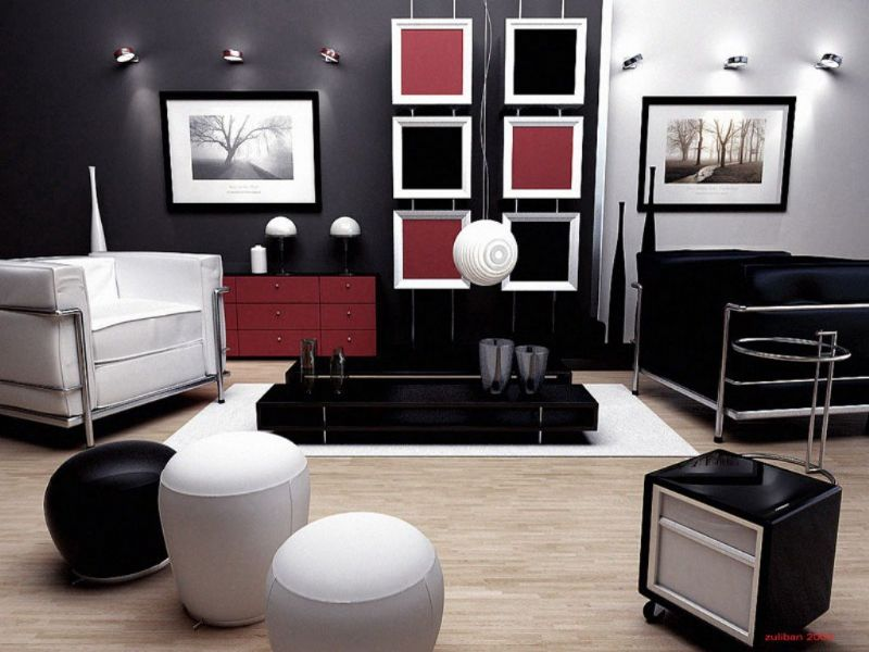 dark bedroom furniture decorating ideas photo - 3