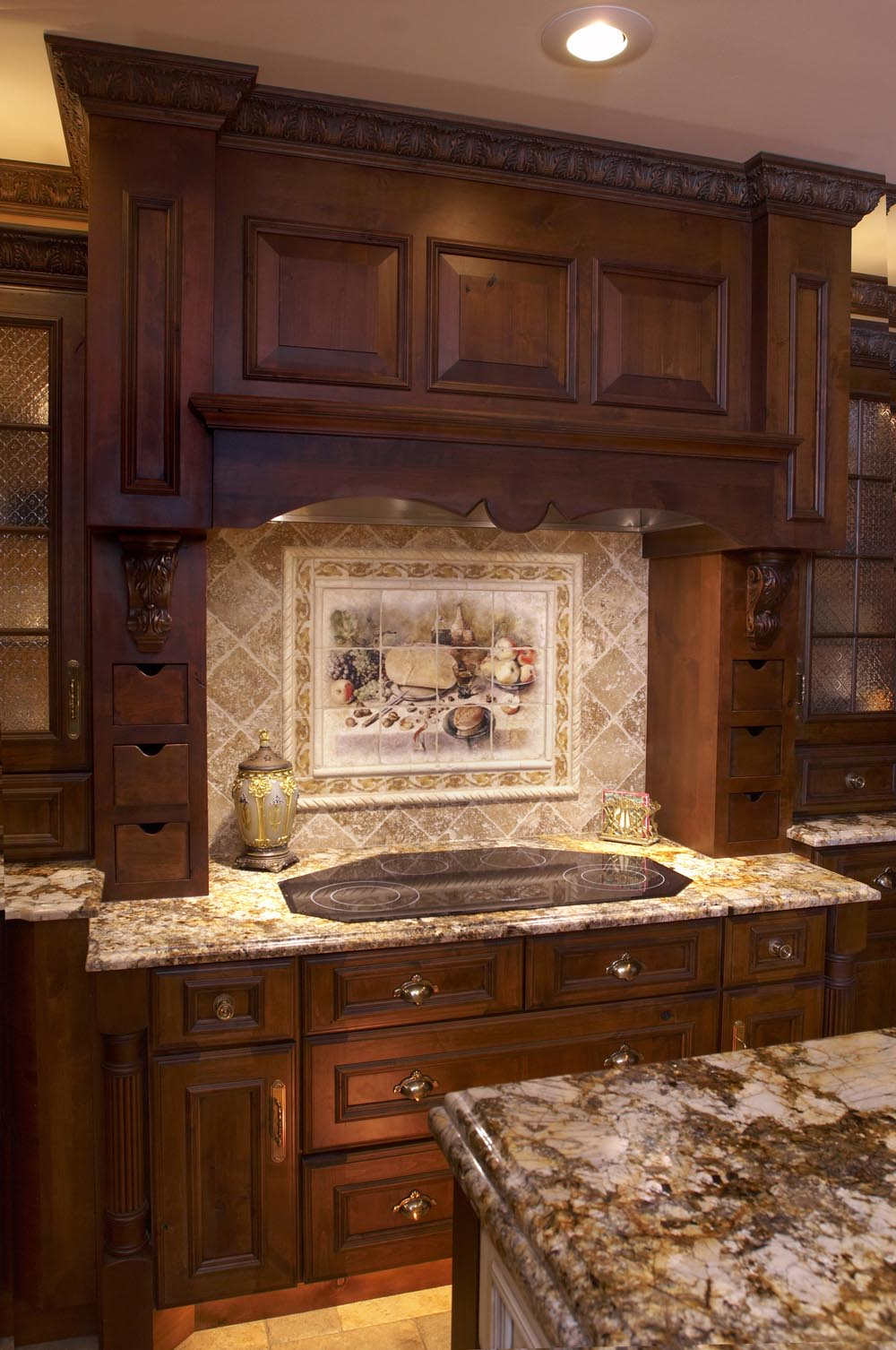 Dark kitchen cabinets backsplash ideas | Interior & Exterior Doors