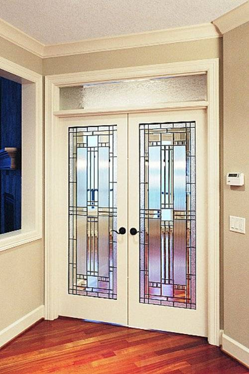 decorative french doors interior photo - 1