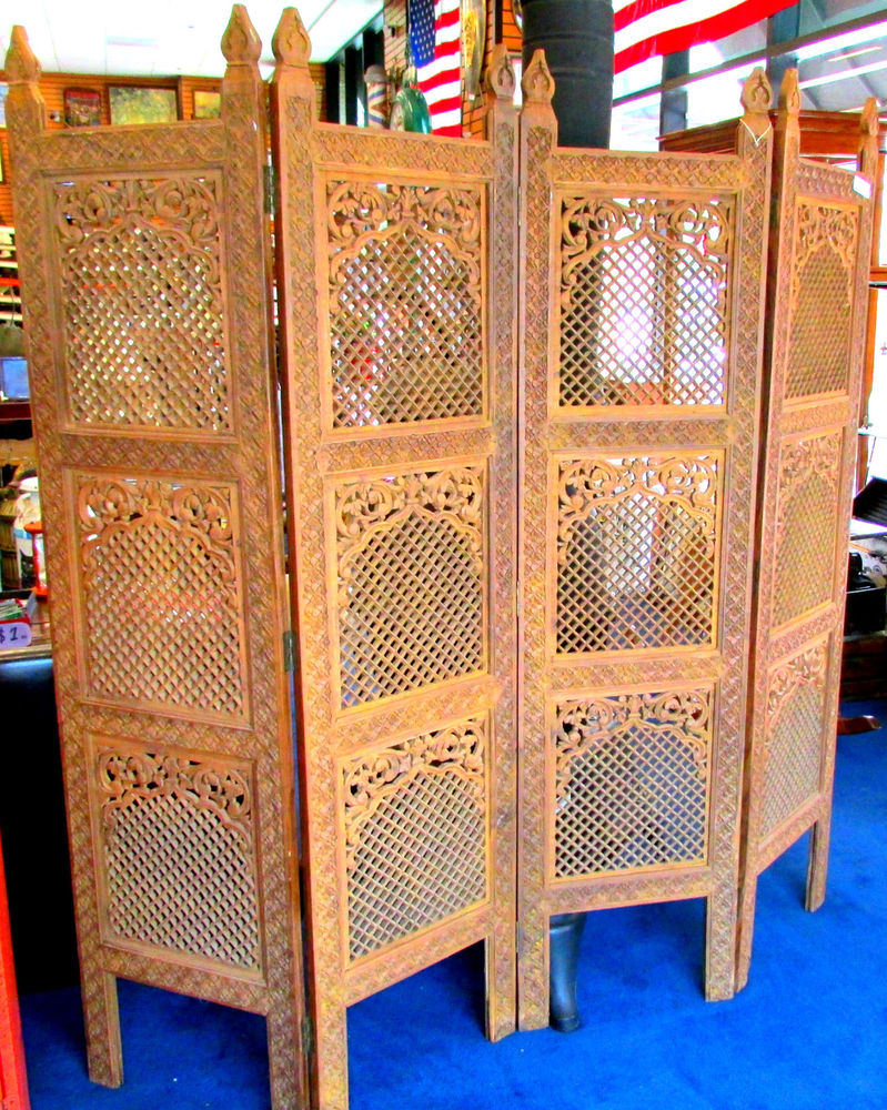 decorative hanging room divider photo - 1