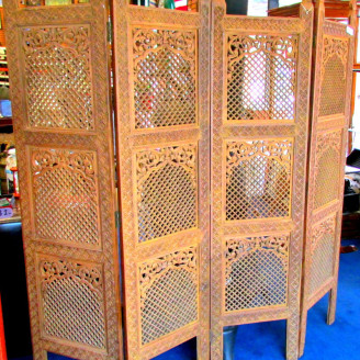 decorative hanging room divider photo - 3