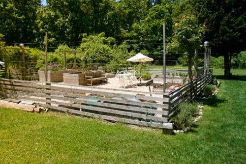 deer fence design ideas photo - 2