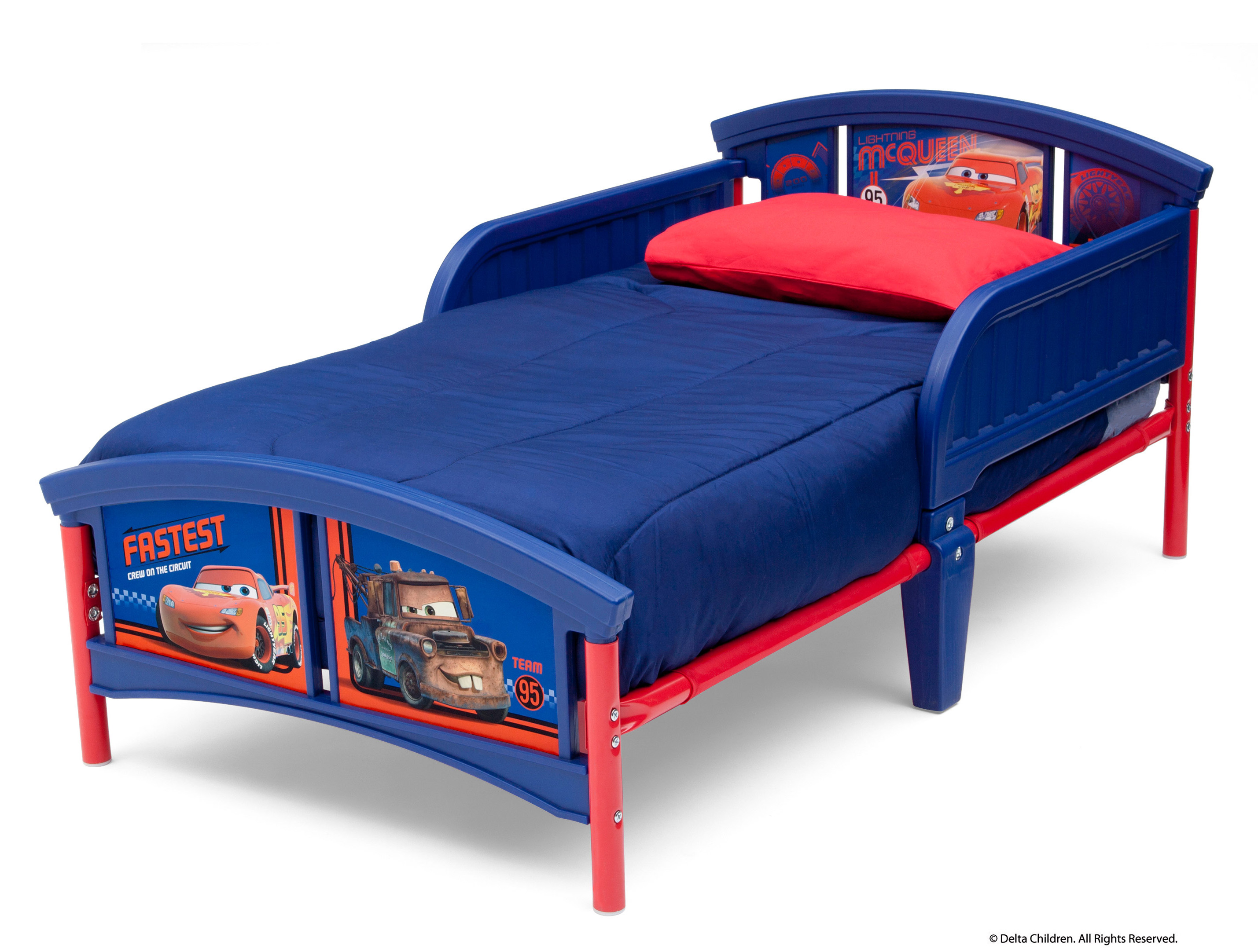 delta cars toddler bed instructions photo - 3