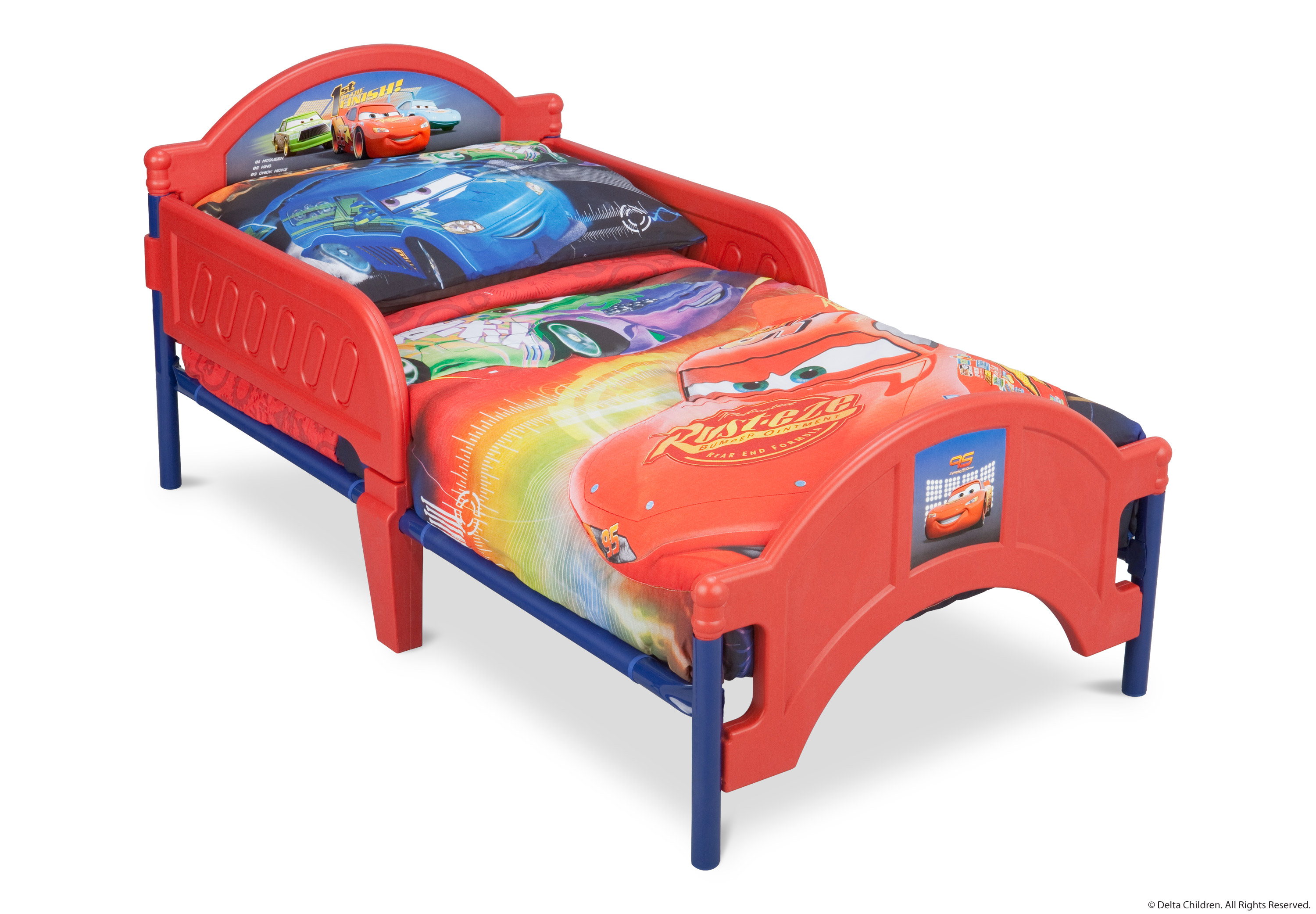 delta cars toddler bed instructions photo - 6