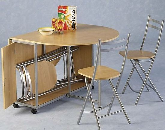 dining tables and chairs for small spaces photo - 5