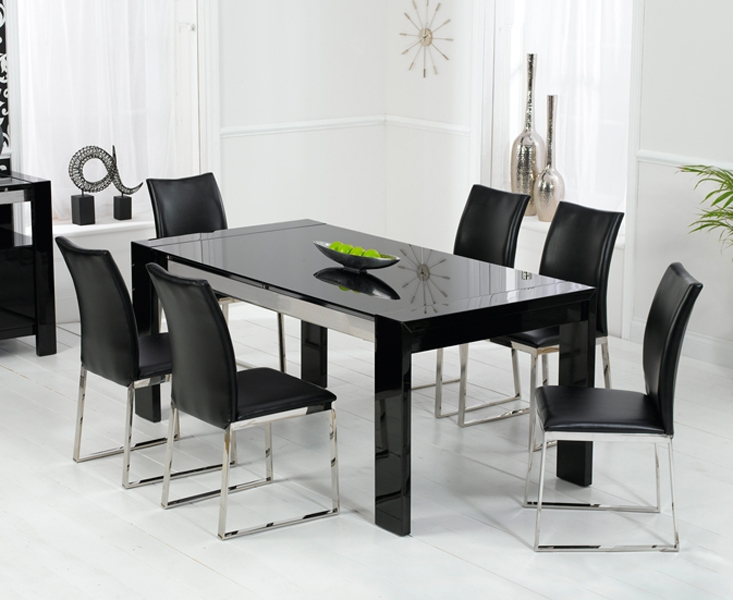 dining tables black photo - 5