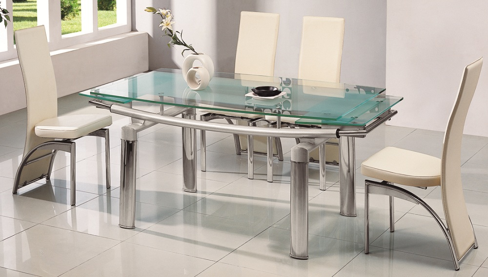 dining tables glass photo - 2