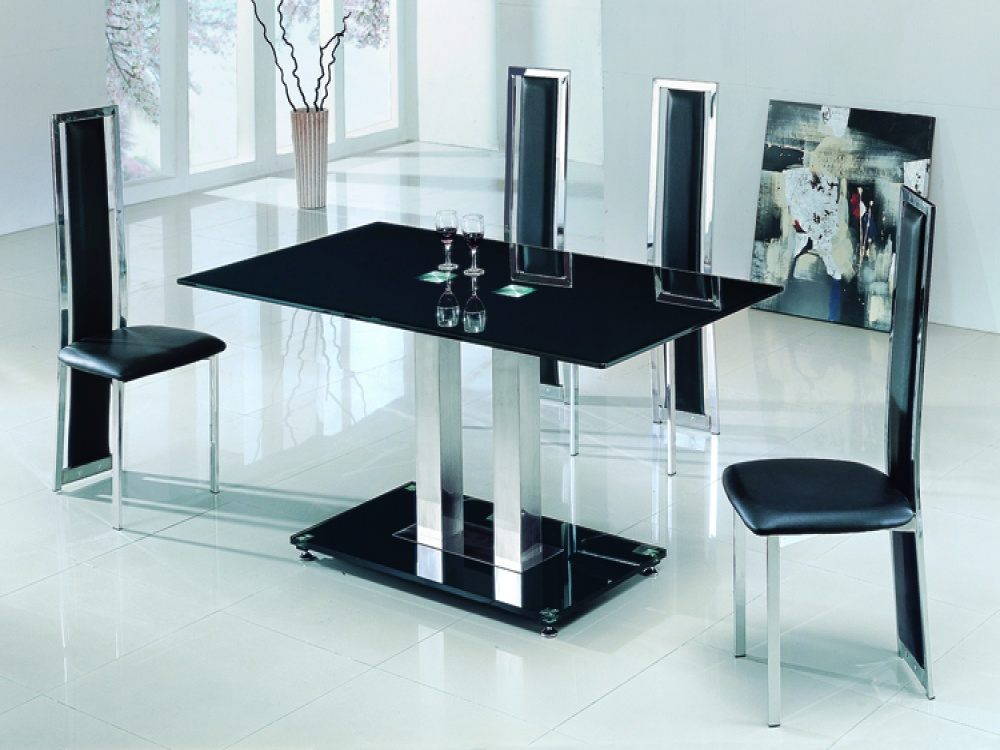 dining tables glass photo - 3