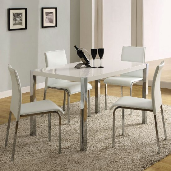 dining tables white photo - 2