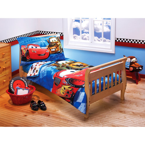 disney cars toddler bed set kids photo - 1