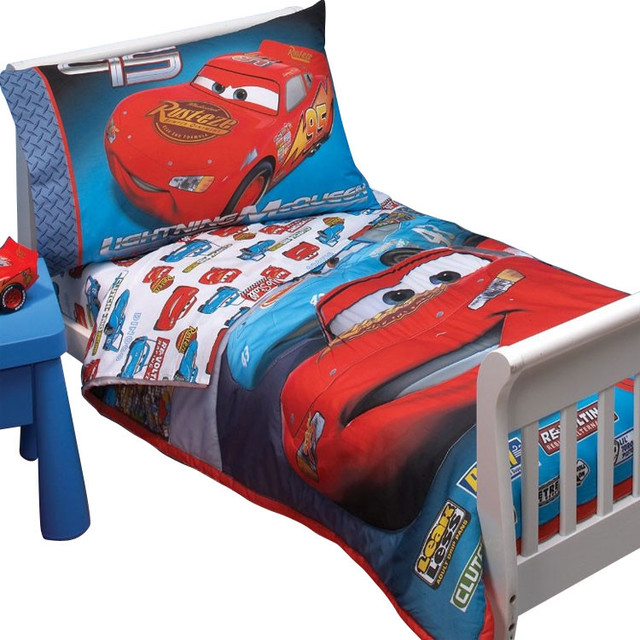 disney cars toddler bed set kids photo - 2