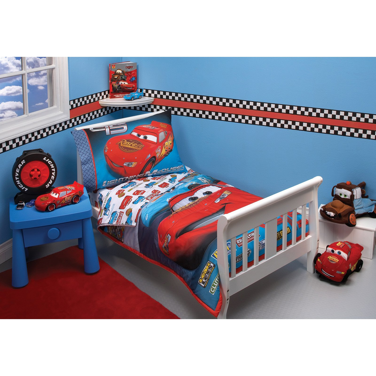 disney cars toddler bed set kids photo - 5