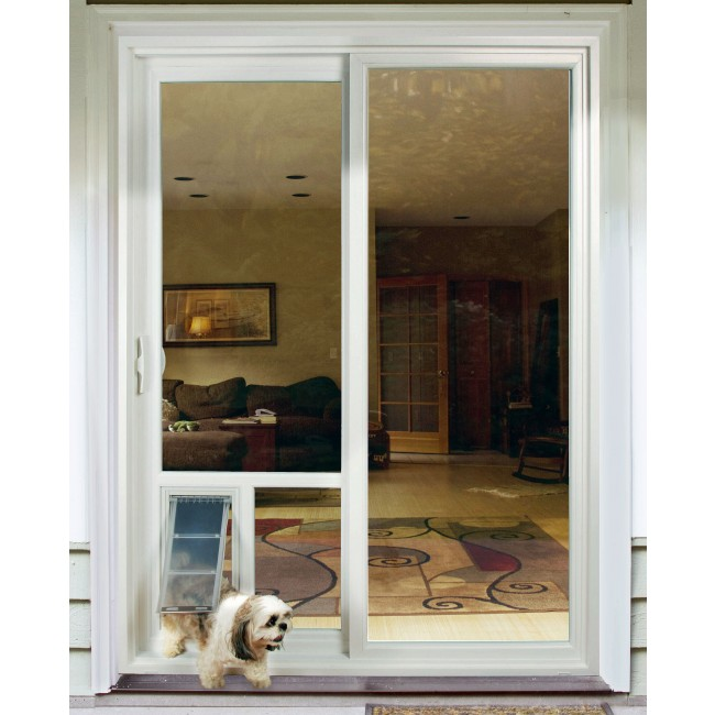 dog door for sliding door photo - 5