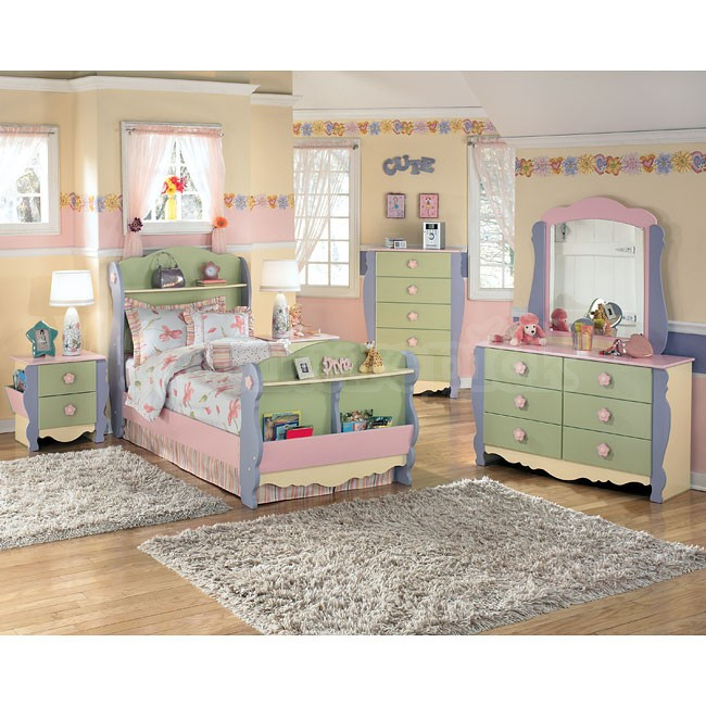 Dollhouse Bedroom Furniture For Kids Photo 4