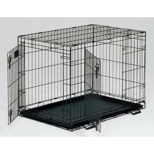 double door dog crate photo - 3