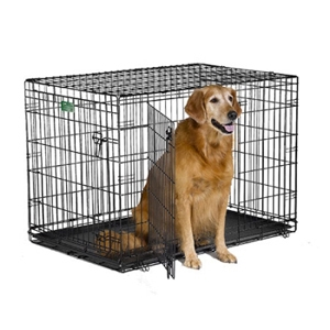 double door dog crate photo - 6