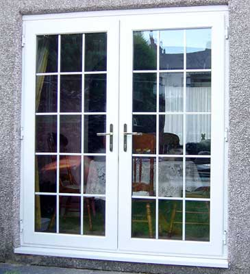 Double French Doors Exterior
