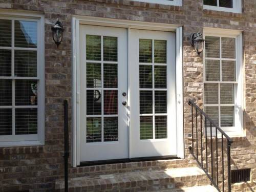 double french doors with screens photo - 6