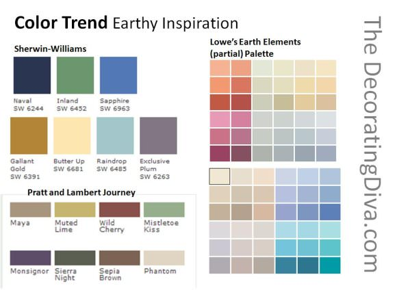 earthy wall paint colors photo - 1
