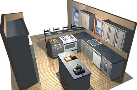 efficient kitchen design ideas photo - 3