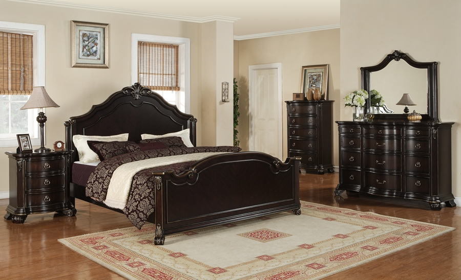 elegant bedroom furniture sets photo - 1
