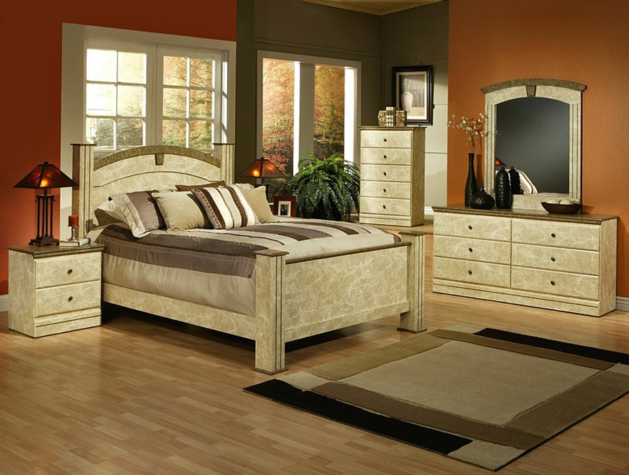 elegant bedroom furniture sets photo - 4