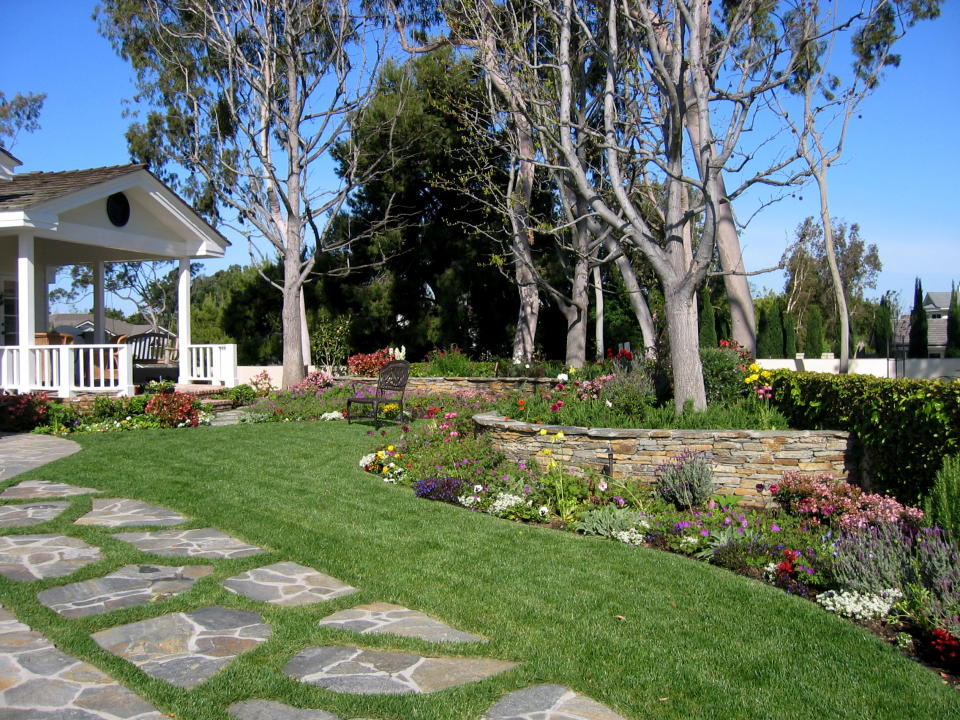 entry garden design ideas photo - 3