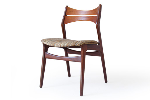 erik buck teak dining chairs photo - 1