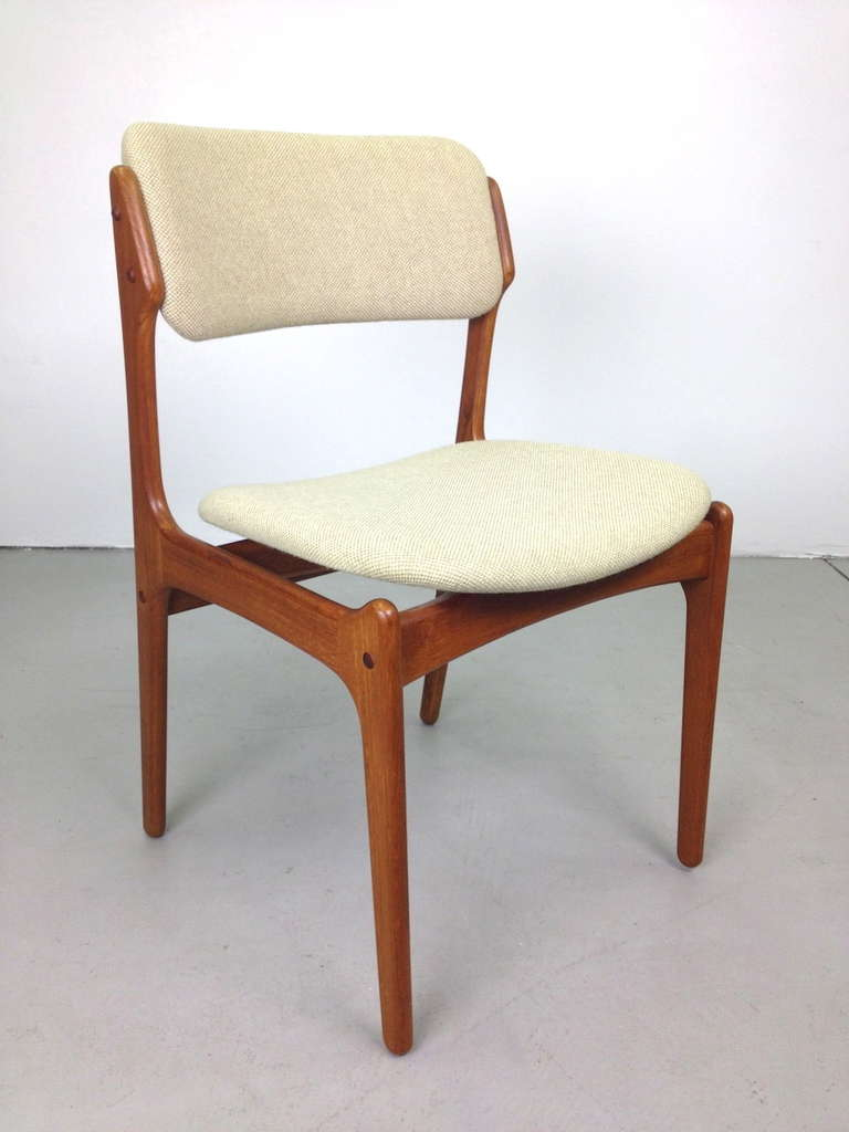erik buck teak dining chairs photo - 4