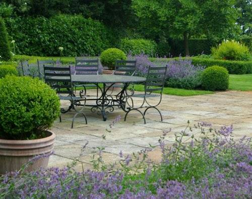 evergreen garden design ideas photo - 2