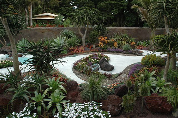 evergreen garden design ideas photo - 4