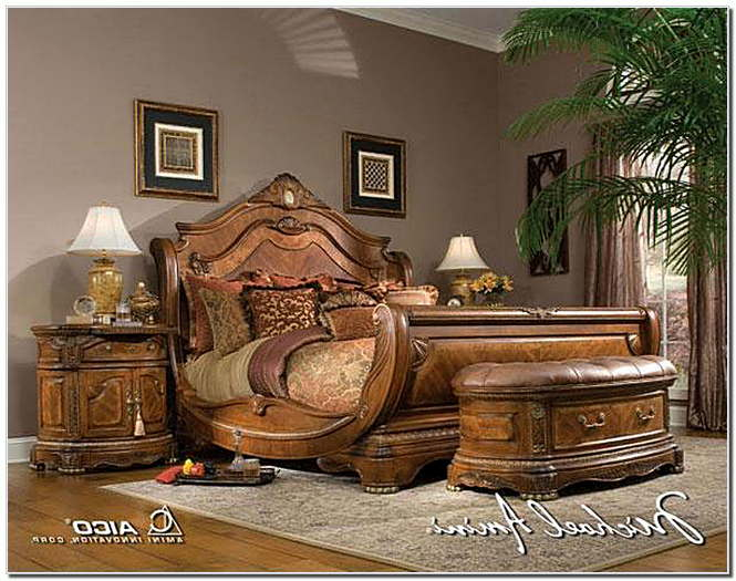 exotic bedroom furniture sets photo - 3