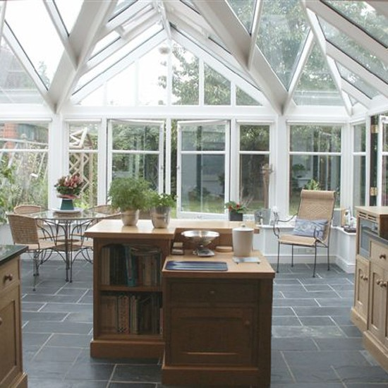 extension design ideas kitchen garden room photo - 4