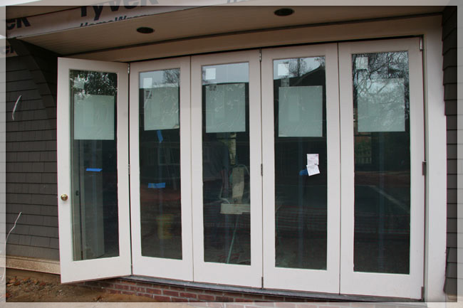 exterior accordion doors photo - 3