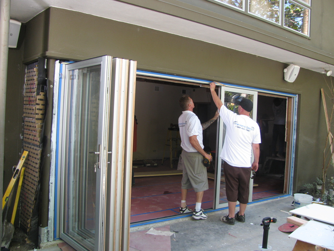 Exterior glass patio doors -  Folding Patio Doors Exterior Glass Bi Fold