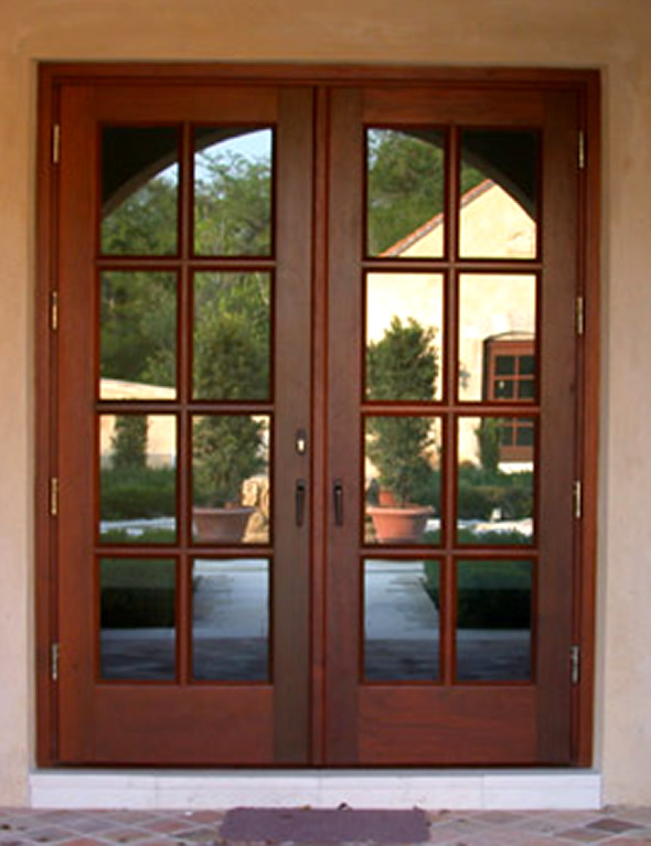exterior french entry doors photo - 3
